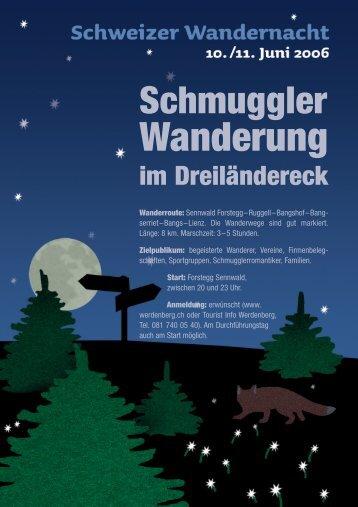 Wanderung - Region Werdenberg
