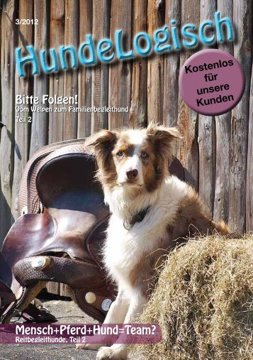 Heft 3/2012 - bei Hunde-logisch.de