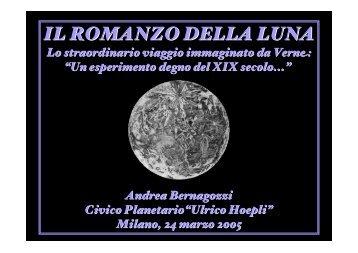 IL ROMANZO DELLA LUNA - Comune di Milano