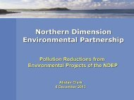 Pollution reduction presentation - NDEP