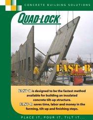 Quad-Lock's FAST-R ICF Tilt-Up Solution - Quad-Lock Building ...