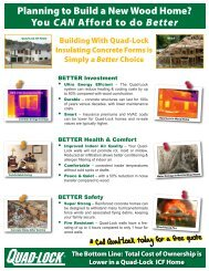 Better - Quad-Lock Building Systems