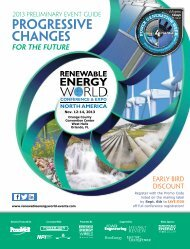 Preliminary Event Guide (pdf) - Renewable Energy World North ...