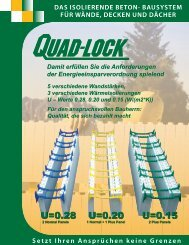 Quad-Lock Building Systems