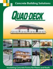 Quad-Deck Brochure - Quad-Lock Building Systems
