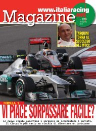 TARQUINI TORNA AL SUCCESSO NEL WTCC - Italiaracing