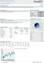 EasyETF Stoxx Europe 600 Oil & Gas - BNP Paribas Investment ...