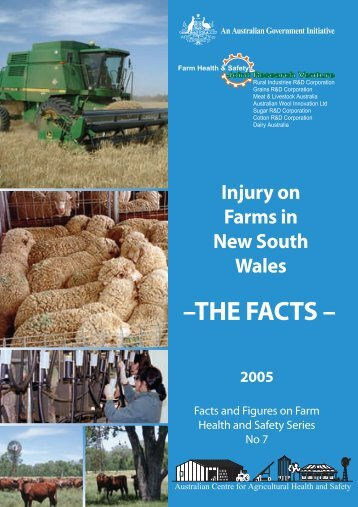 Injury on Farms in New South Wales - Australian Centre for ...