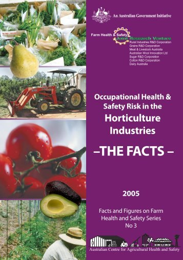 Occupational health and safety risk in the Horticulture Industries