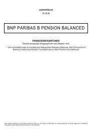 Jaarlijks - BNP Paribas Investment Partners