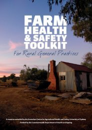 Farm Health and Safety Toolkit for Rural General Practitioners
