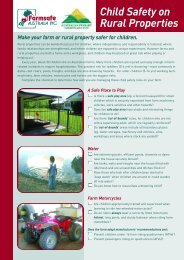 Child safety on rural properties - Australian Centre for Agricultural ...