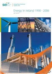 Energy in Ireland 1990 - 2006 - the Sustainable Energy Authority of ...