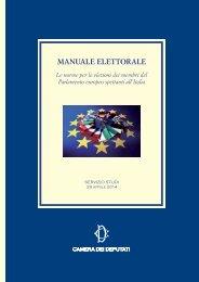 Manuale elezioni europee 2014_29 aprile 2014