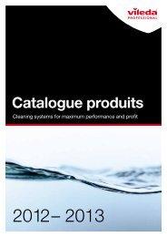 Catalogue produits - Vileda Professional