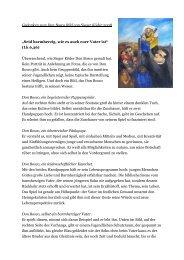 Bildbetrachtung von Provinzial Pater Josef Grünner SDB (Download)