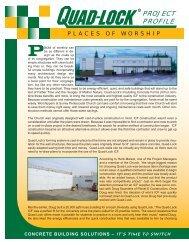 Places - Quad-Lock Building Systems