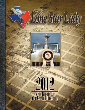 Lone Star Lady March June 2012 - Rroctexas.com