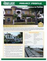 Teague Residence - Quad-Lock Building Systems