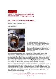 Istandsættelse af TRAPPEOPGANGE - Center for Bygningsbevaring