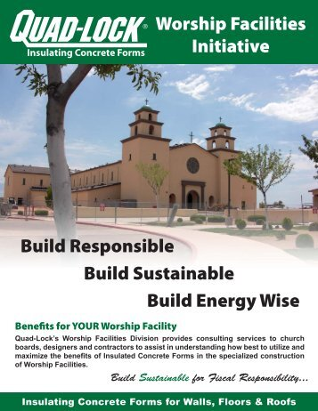 Build Sustainable for Fiscal Responsibility... - Quad-Lock Building ...