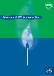 Behaviour of EPS in case of Fire - Quad-Lock Building Systems