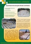 Quad-Deck Isolierendes Betonbausystem für Decken und Dächer - Seite 2