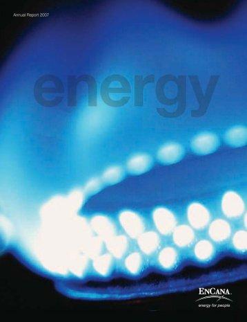 Annual Report 2007 - Encana