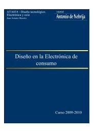 Diseño en la Electrónica de consumo