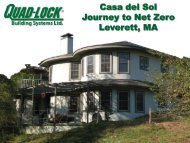 Casa del Sol Journey to Net Zero Leverett, MA