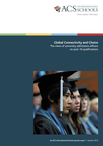 Global Connectivity and Choice (2012) - ACS International Schools