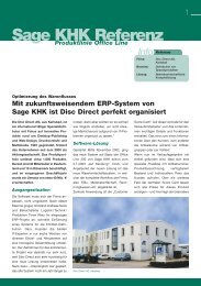 Sage KHK Referenz - Quadus GmbH