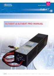 AlfaBat & Alfabat Pro Manual (English) - Emrol