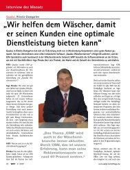 Interview des Monats - Quadus GmbH