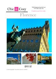 Florence - Chic & Cosy