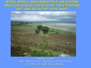 MODEL-BASED GROUNDWATER FLOW SYSTEM ... - MaWaRi.net