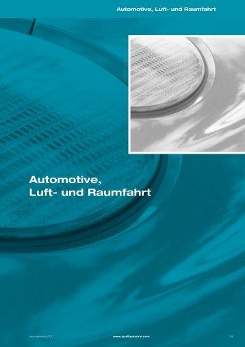 Automotive, Luft- und Raumfahrt - Quality Austria