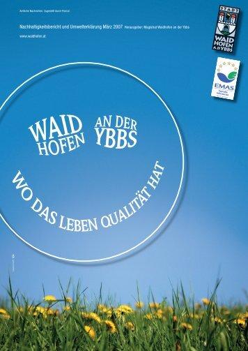 Magistrat Waidhofen an der Ybbs - Quality Austria