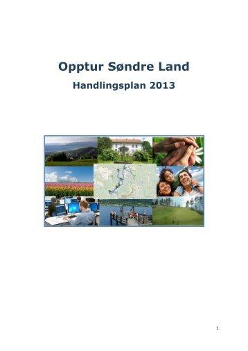 Opptur Søndre Land - Handlingsplan - Søndre Land kommune