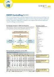SWOT Controlling BASIC
