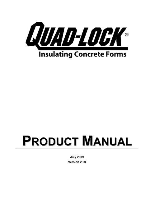 B - Quad-Lock Building Systems