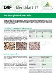 Merkblatt 12 - Bayerische Landesanstalt für Wald und Forstwirtschaft ...