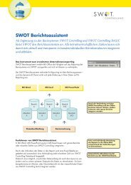 SWOT Berichtsassistent