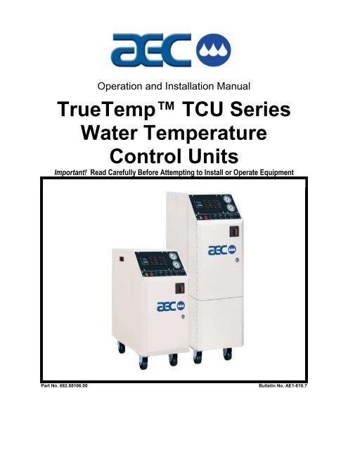 TrueTemp™ TCU Series Water Temperature Control Units