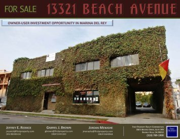 13321 BEACH AVENUE - Property Line