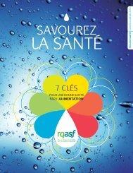 7 clés pour une bonne santé par l'alimentation - Réseau québécois ...