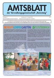 Kneippkindergarten Stützerbach - VG Rennsteig