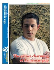The prince charming of Armenian pop - Armenian Reporter