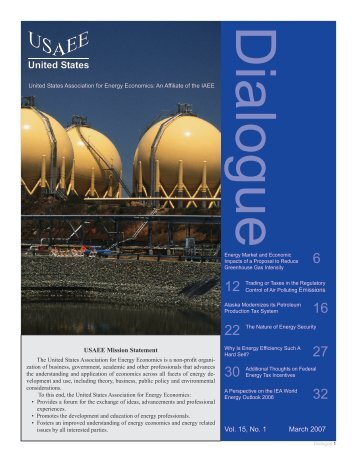 Vol. 5, No. March 2007 - United States Association of Energy ...