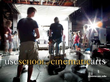 School of Cinematic Arts - USC Student Affairs Information ...